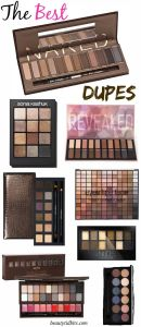 Eyeshadow Dupes