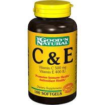 vitamins c and e